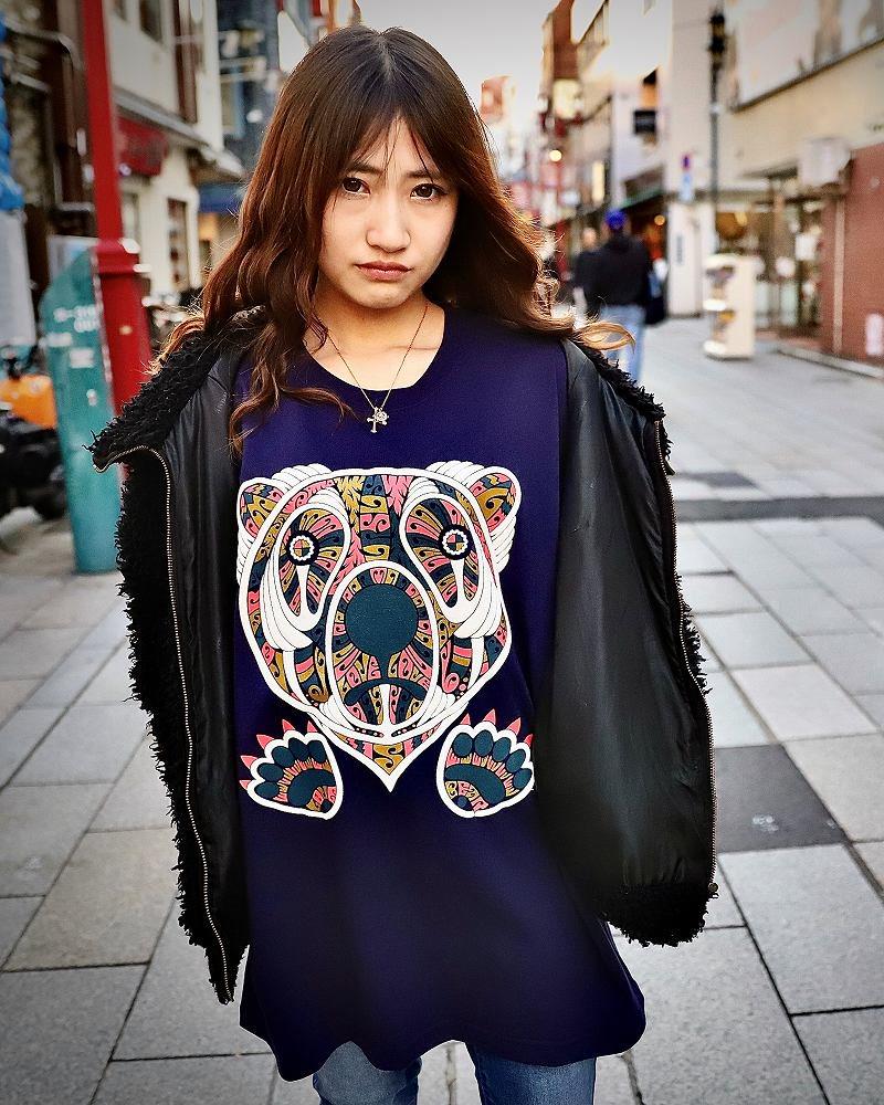 【OTACCIMAN】《2色》クマTシャツの画像1